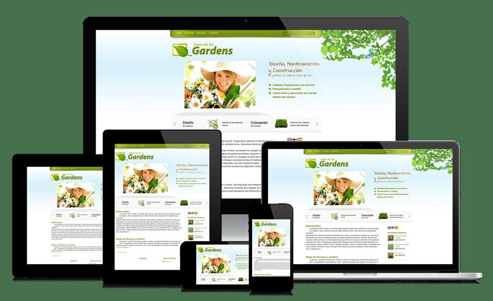 Affordable Business Web Design Image